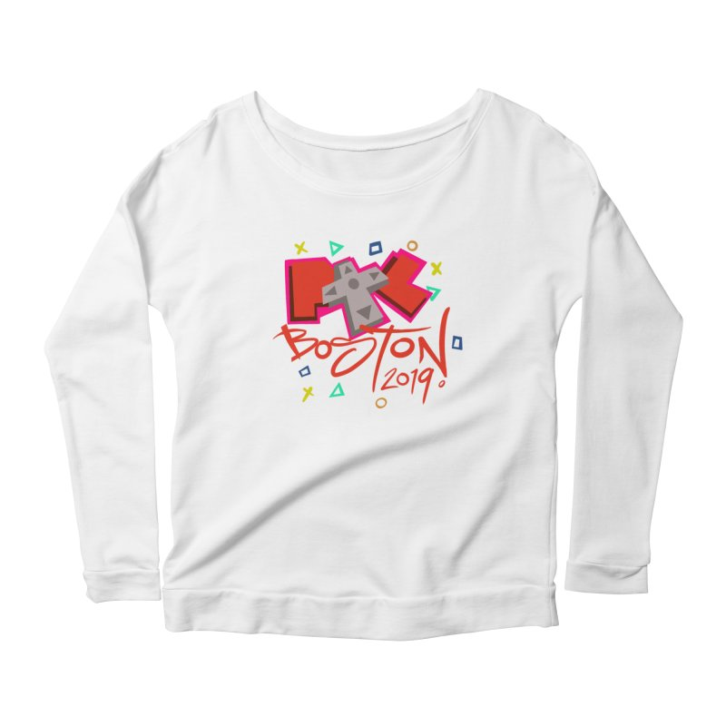 PAX The Controller 2019 Women's Scoop Neck Longsleeve T-Shirt by Official Pass The Controller Store