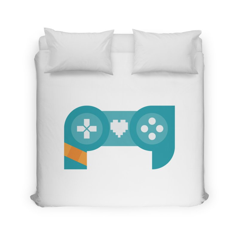 Logo Home Duvet by Patch Gaming's Merchandise Shop