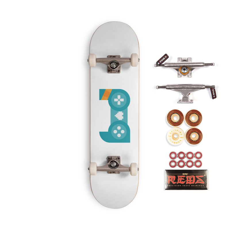 Logo Accessories Skateboard by Patch Gaming's Merchandise Shop