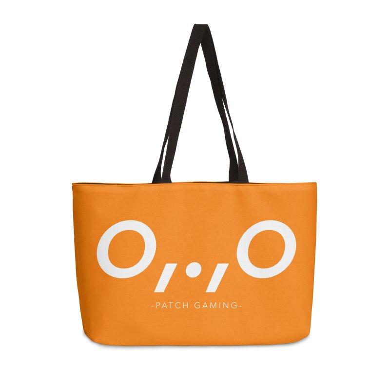 Galahir's Orange Dinoface Accessories Bag by Patch Gaming's Merchandise Shop