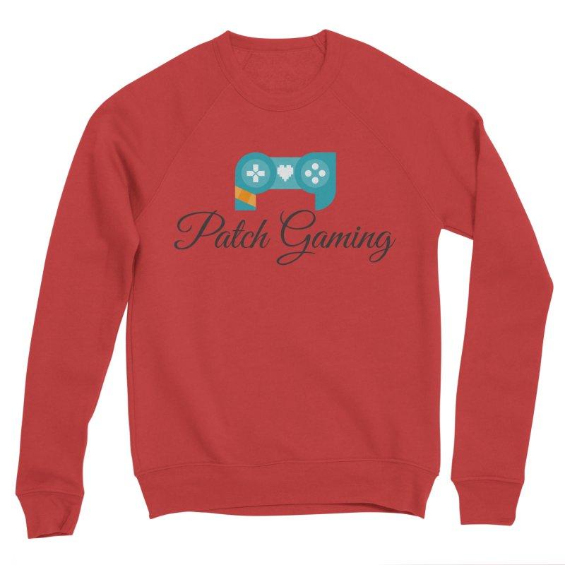 Patch Logo (Black Text) Women's Sweatshirt by Patch Gaming's Merchandise Shop