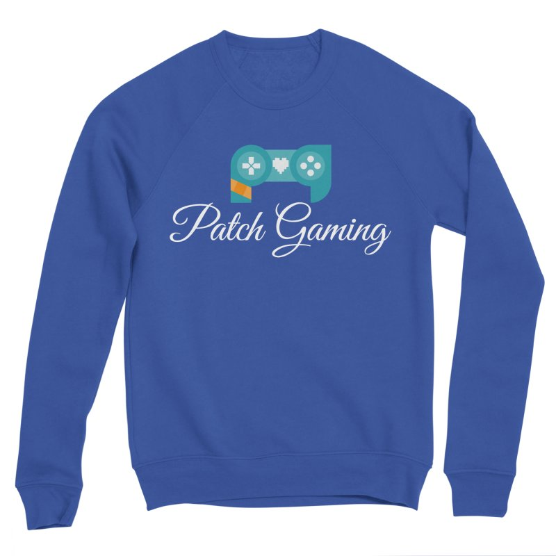 Logo (White Text) Women's Sweatshirt by Patch Gaming's Merchandise Shop