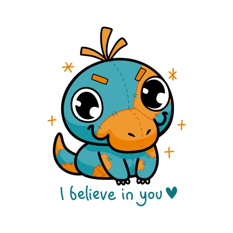 I Believe in You! Accessories Bag by Patch Gaming's Merchandise Shop