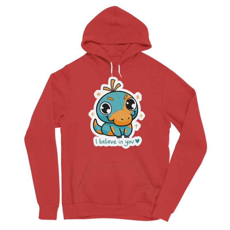 I Believe in You! Men's Pullover Hoody by Patch Gaming's Merchandise Shop