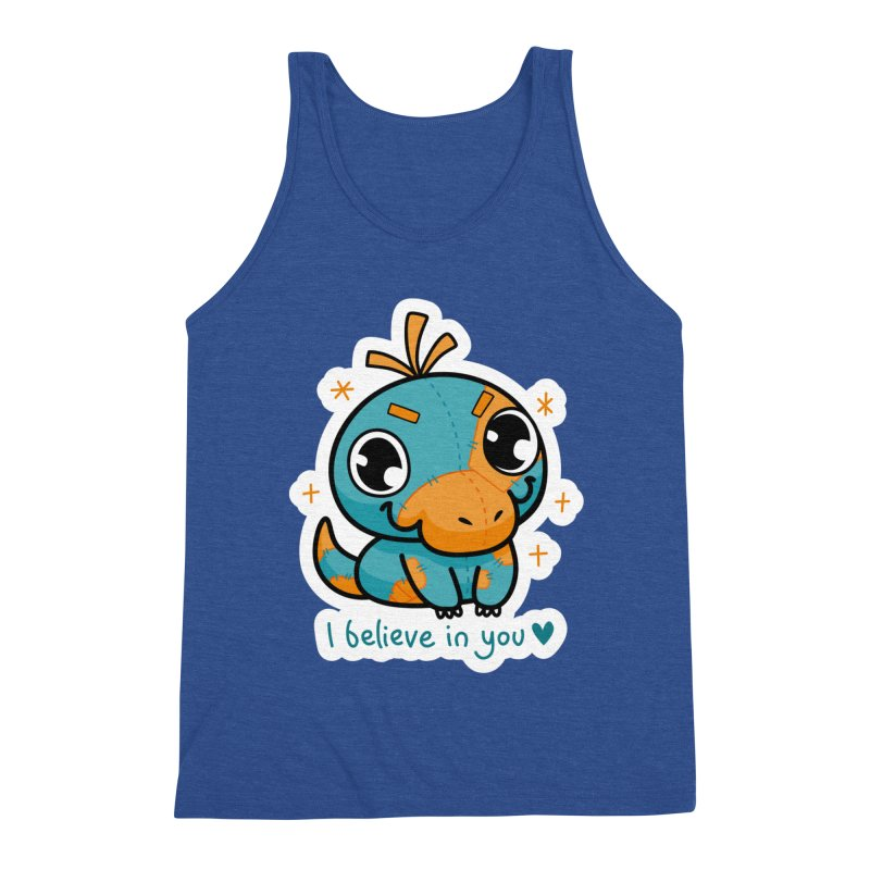 I Believe in You! Men's Tank by Patch Gaming's Merchandise Shop