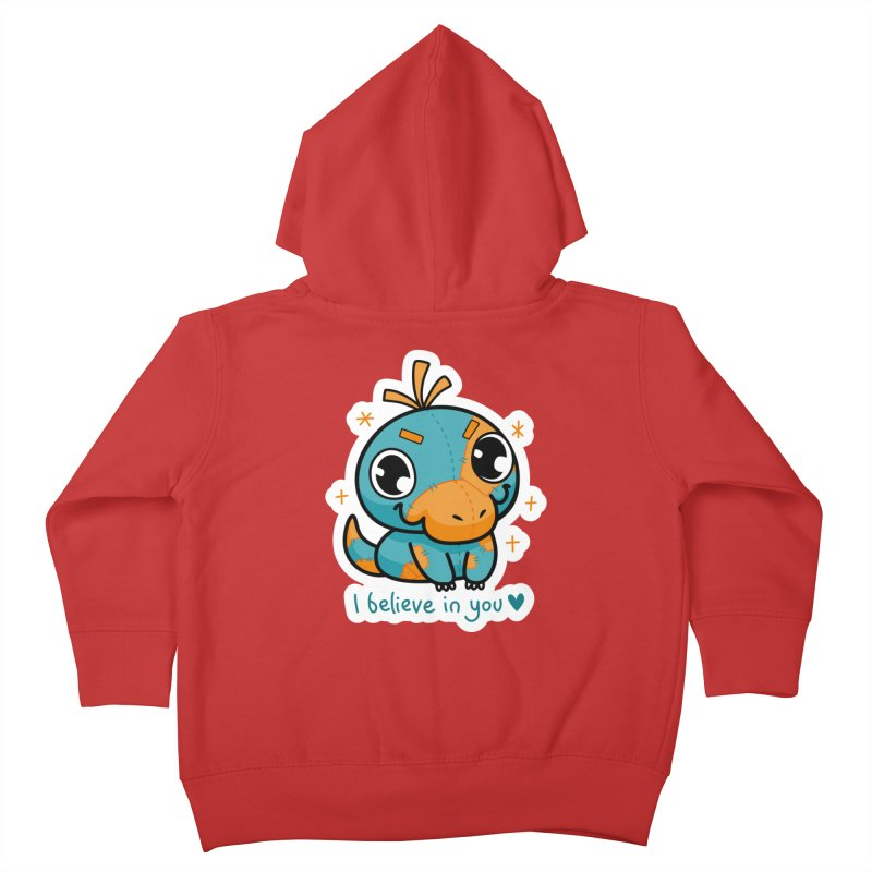 I Believe in You! Kids Toddler Zip-Up Hoody by Patch Gaming's Merchandise Shop