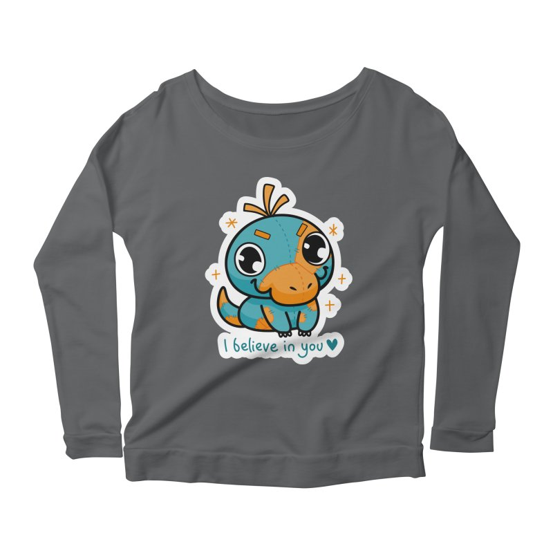 I Believe in You! Women's Longsleeve T-Shirt by Patch Gaming's Merchandise Shop