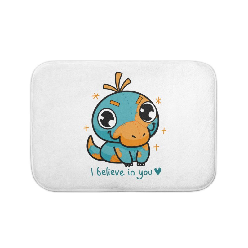 I Believe in You! Home Bath Mat by Patch Gaming's Merchandise Shop