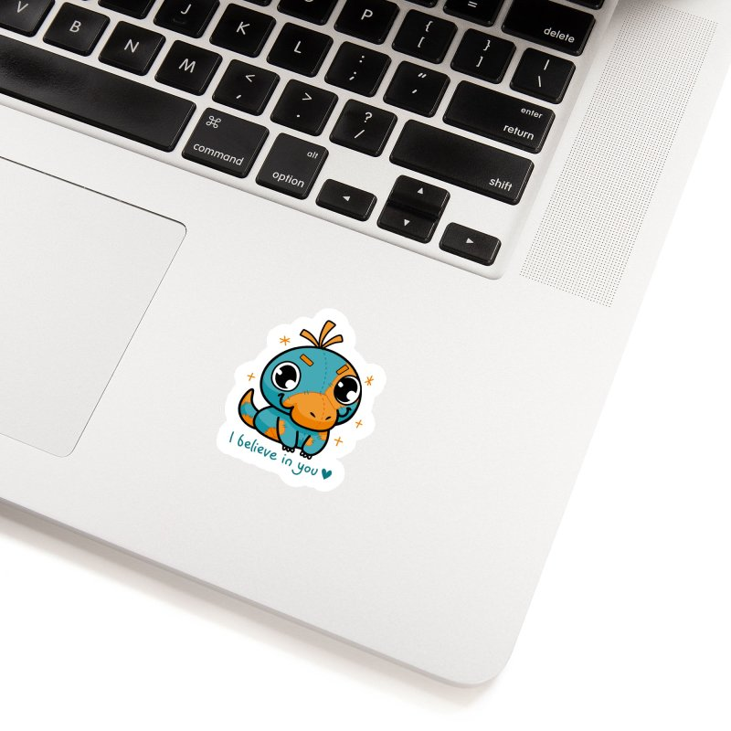 I Believe in You! Accessories Sticker by Patch Gaming's Merchandise Shop