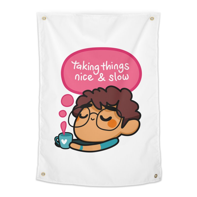Taking Things Nice and Slow Home Tapestry by Patch Gaming's Merchandise Shop