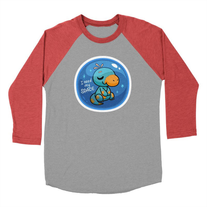 I Need My Space Men's Longsleeve T-Shirt by Patch Gaming's Merchandise Shop