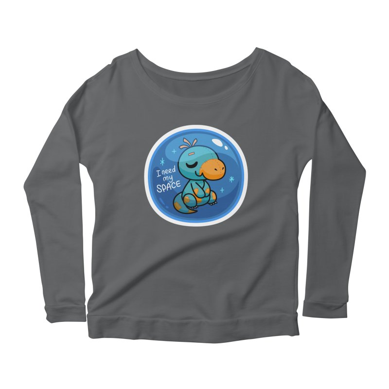 I Need My Space Women's Longsleeve T-Shirt by Patch Gaming's Merchandise Shop