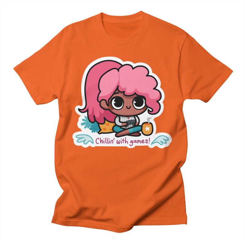 Chillin' With Games Men's T-Shirt by Patch Gaming's Merchandise Shop