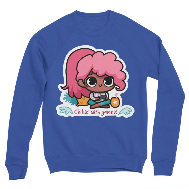 Chillin' With Games Women's Sweatshirt by Patch Gaming's Merchandise Shop