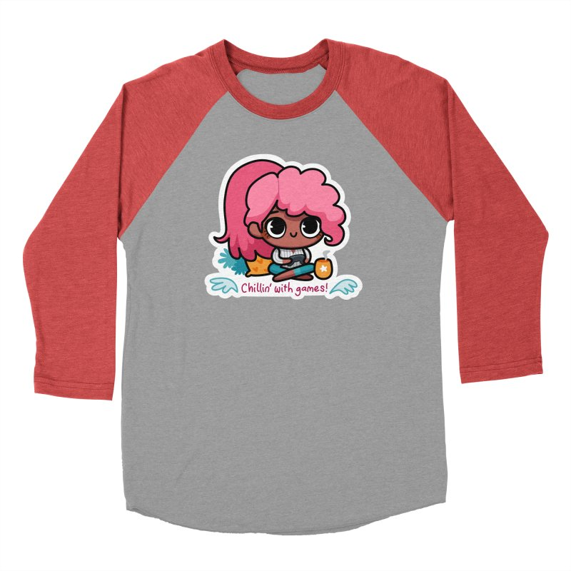 Chillin' With Games Men's Longsleeve T-Shirt by Patch Gaming's Merchandise Shop