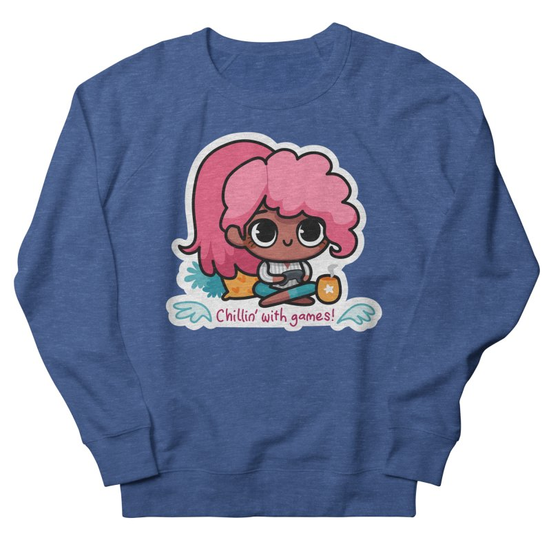 Chillin' With Games Men's Sweatshirt by Patch Gaming's Merchandise Shop