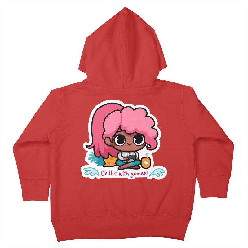 Chillin' With Games Kids Toddler Zip-Up Hoody by Patch Gaming's Merchandise Shop