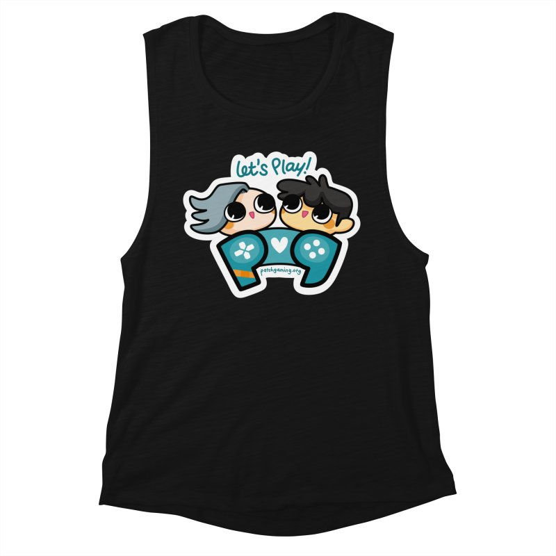 Let's Play! Women's Tank by Patch Gaming's Merchandise Shop