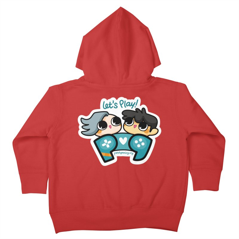 Let's Play! Kids Toddler Zip-Up Hoody by Patch Gaming's Merchandise Shop