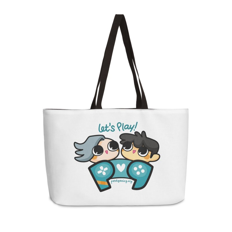Let's Play! Accessories Bag by Patch Gaming's Merchandise Shop
