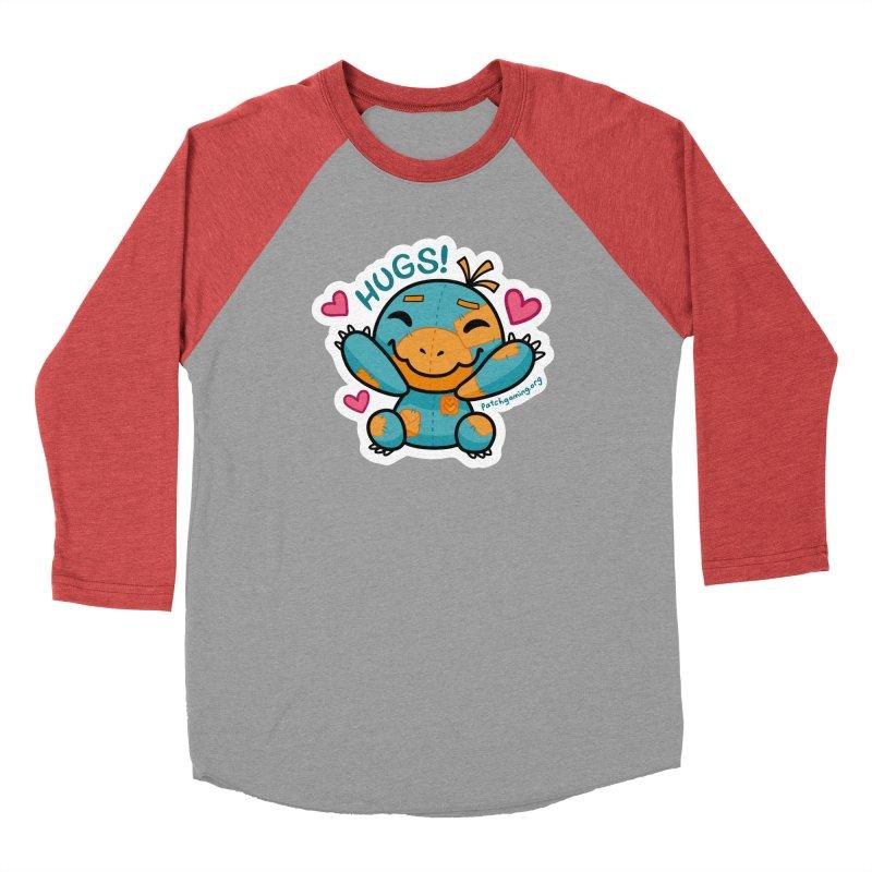 Hugs! Men's Longsleeve T-Shirt by Patch Gaming's Merchandise Shop