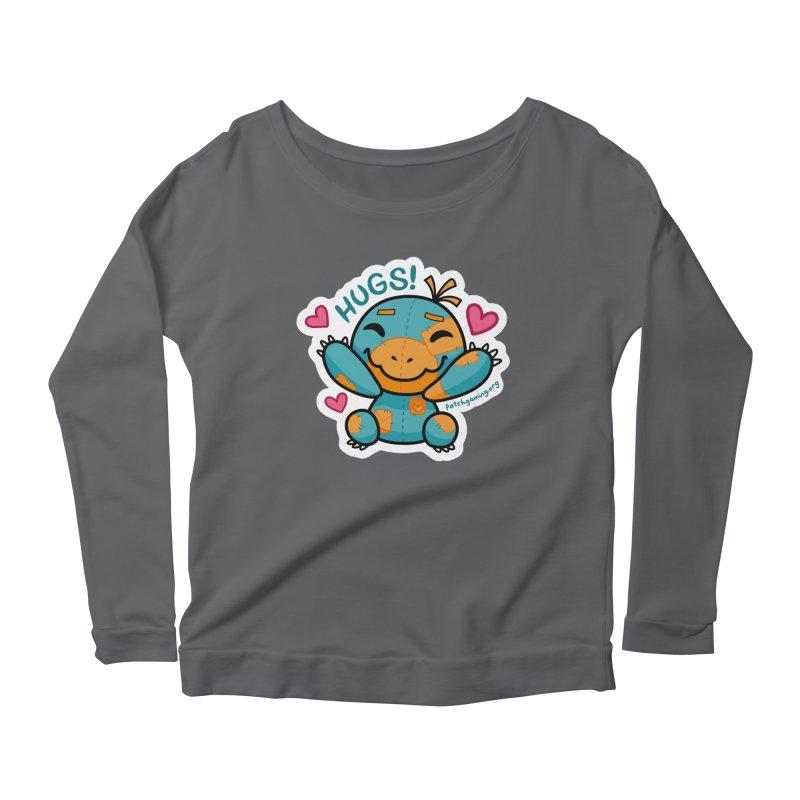 Hugs! Women's Longsleeve T-Shirt by Patch Gaming's Merchandise Shop