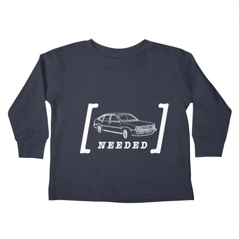 [Citation Needed] Kids Toddler Longsleeve T-Shirt by Patrick Arena Art's Artist Shop