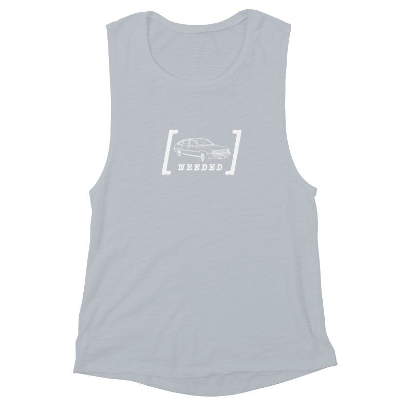 [Citation Needed] Women's Muscle Tank by Patrick Arena Art's Artist Shop