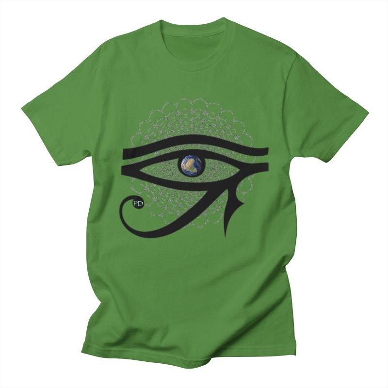 PD - Logo Men's T-Shirt by PaulDamon's Artist Shop