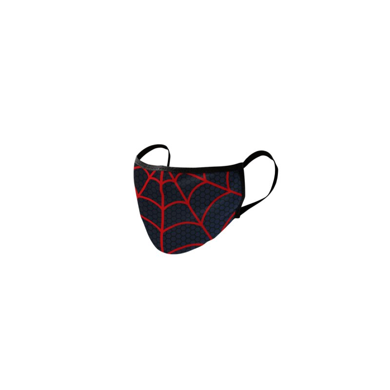Miles Morales Spiderman Face Mask Accessories Face Mask by PaulSimic's Artist Shop