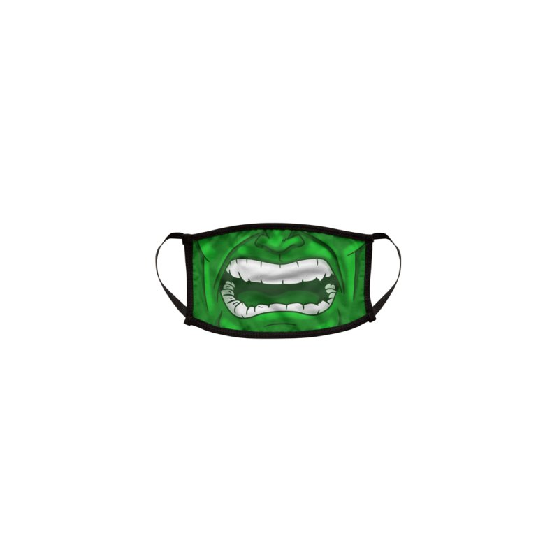 Hulk Face Mask Accessories Face Mask by PaulSimic's Artist Shop