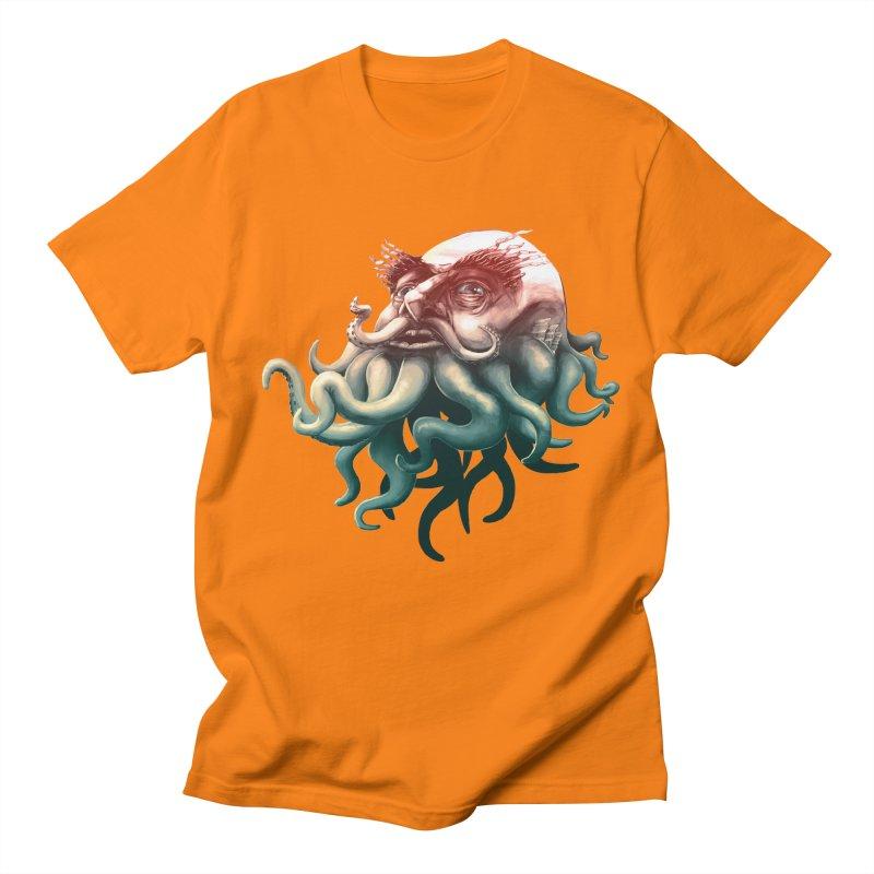 Tentacle Beard Women's Unisex T-Shirt by Paul Johnson's Artist Shop