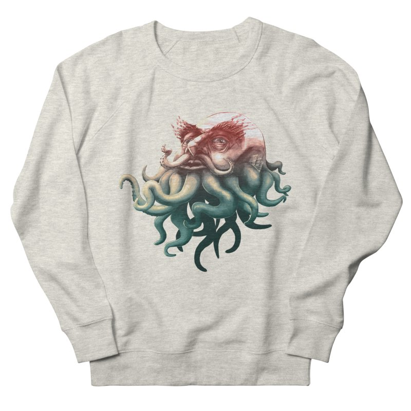 Tentacle Beard Men's Sweatshirt by Paul Johnson's Artist Shop
