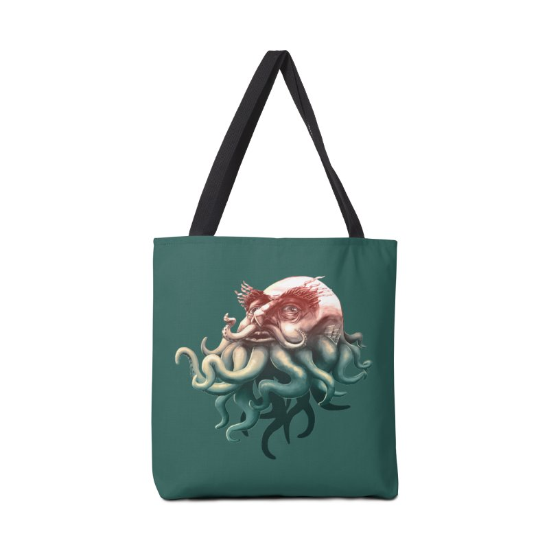 Tentacle Beard Accessories Bag by Paul Johnson's Artist Shop