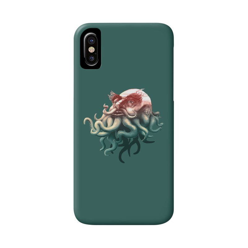 Tentacle Beard Accessories Phone Case by Paul Johnson's Artist Shop