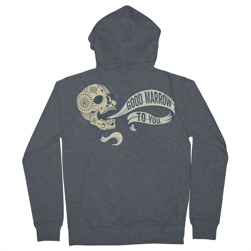 Good Marrow to You Men's Zip-Up Hoody by Paul Johnson's Artist Shop