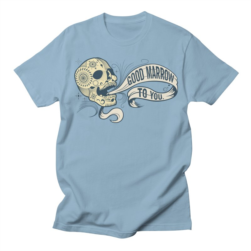 Good Marrow to You Men's T-shirt by Paul Johnson's Artist Shop