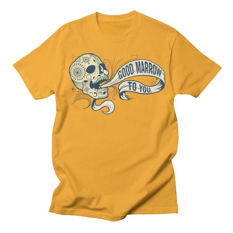 Good Marrow to You Men's T-shirt by Paul Johnson's Artist Shop