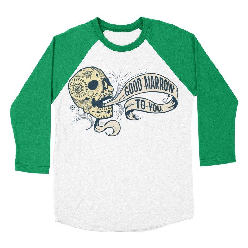 Good Marrow to You Women's Baseball Triblend T-Shirt by Paul Johnson's Artist Shop