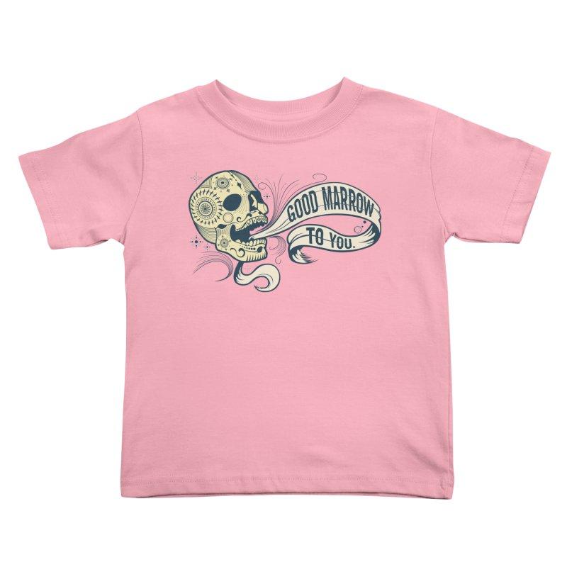 Good Marrow to You Kids Toddler T-Shirt by Paul Johnson's Artist Shop