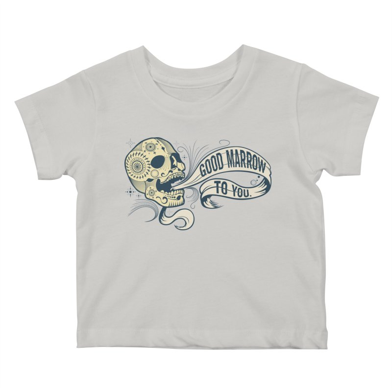 Good Marrow to You Kids Baby T-Shirt by Paul Johnson's Artist Shop