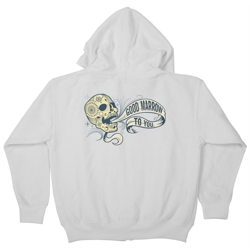 Good Marrow to You Kids Zip-Up Hoody by Paul Johnson's Artist Shop