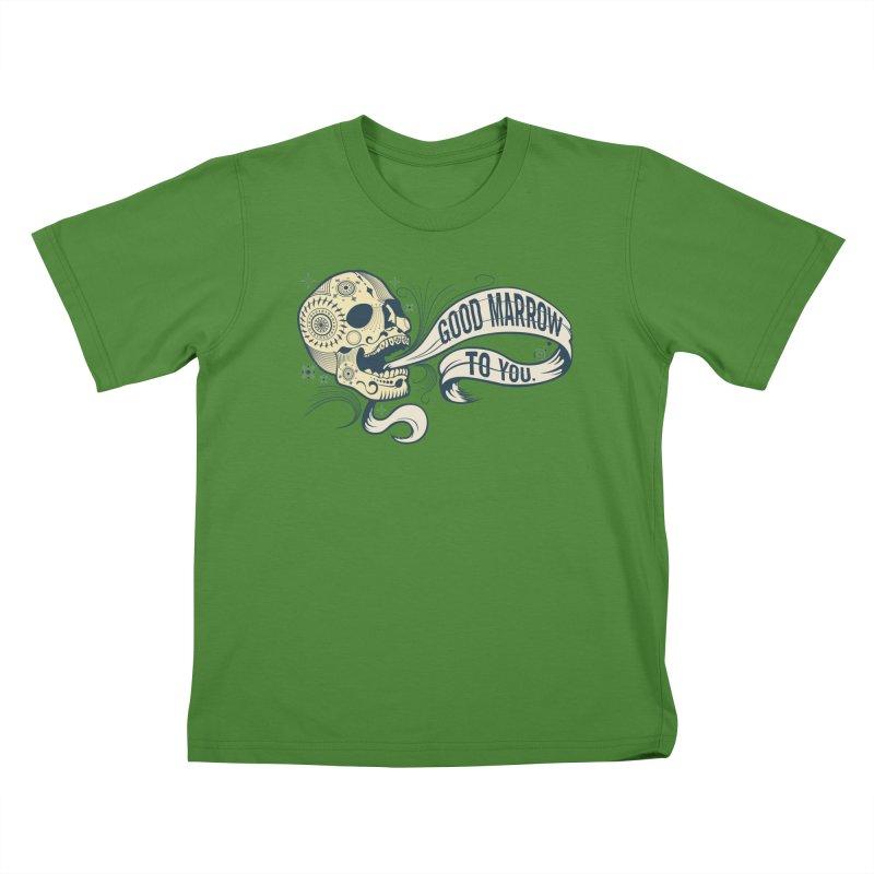 Good Marrow to You Kids T-shirt by Paul Johnson's Artist Shop