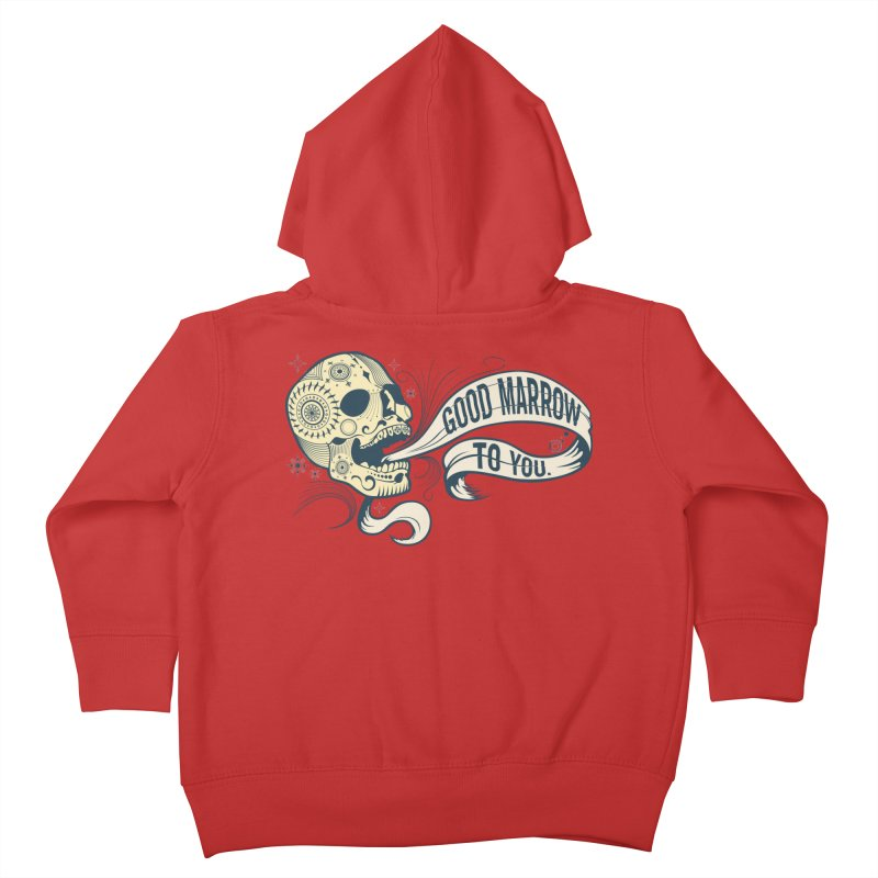 Good Marrow to You Kids Toddler Zip-Up Hoody by Paul Johnson's Artist Shop