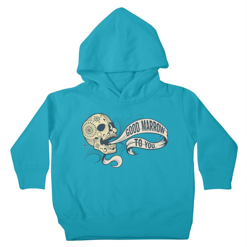 Good Marrow to You Kids Toddler Pullover Hoody by Paul Johnson's Artist Shop