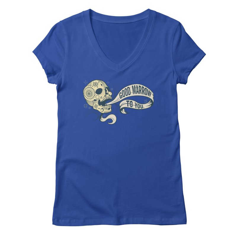 Good Marrow to You Women's V-Neck by Paul Johnson's Artist Shop