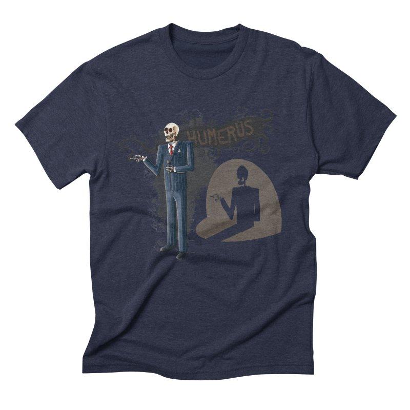 Humerus Men's Triblend T-shirt by Paul Johnson's Artist Shop
