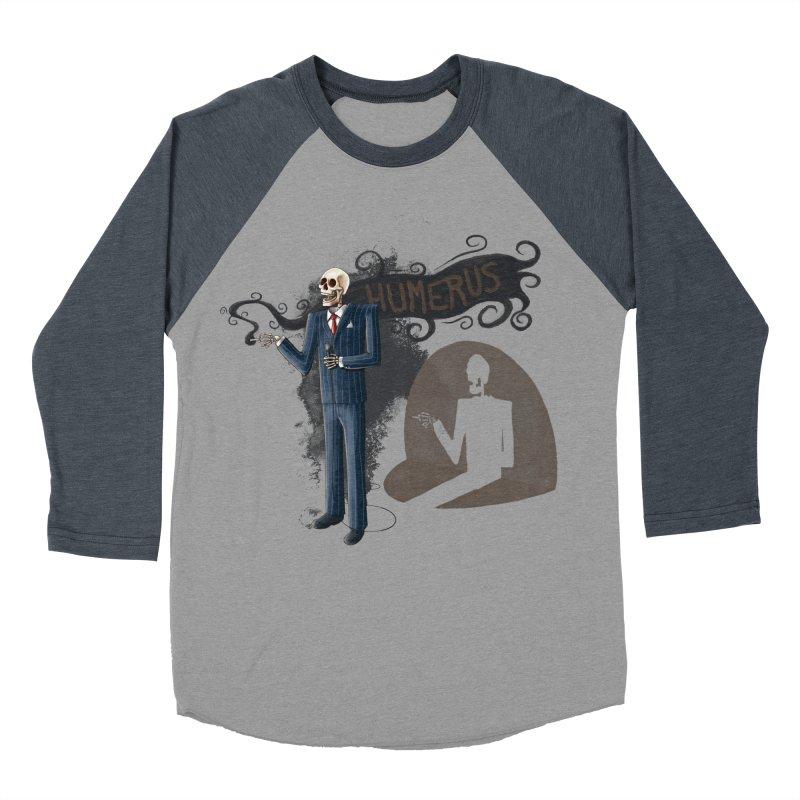 Humerus Women's Baseball Triblend T-Shirt by Paul Johnson's Artist Shop