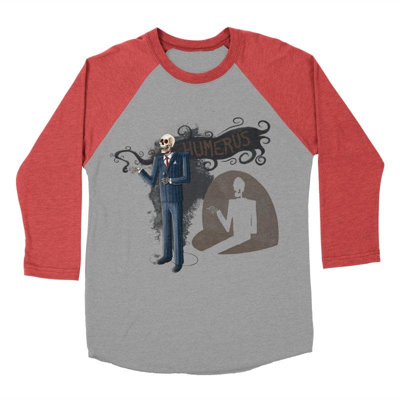 Humerus Men's Baseball Triblend T-Shirt by Paul Johnson's Artist Shop