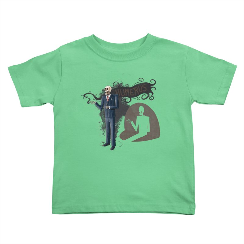 Humerus Kids Toddler T-Shirt by Paul Johnson's Artist Shop